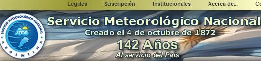 Serv. Metereologico