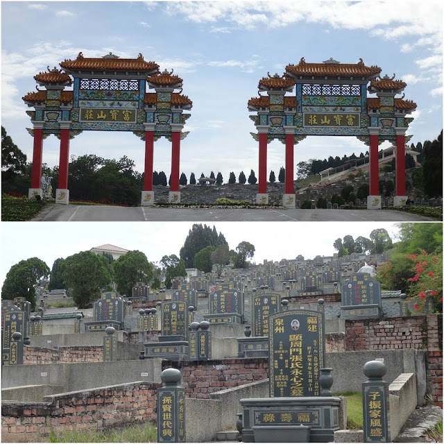 The modernation of Chinese Cemetery in Malaysia without being perceived as scary and dirty to visit as most of the new Chinese cemeteries in Malaysia are well- maintained with landscape design