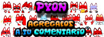 Emoticonos Pyon
