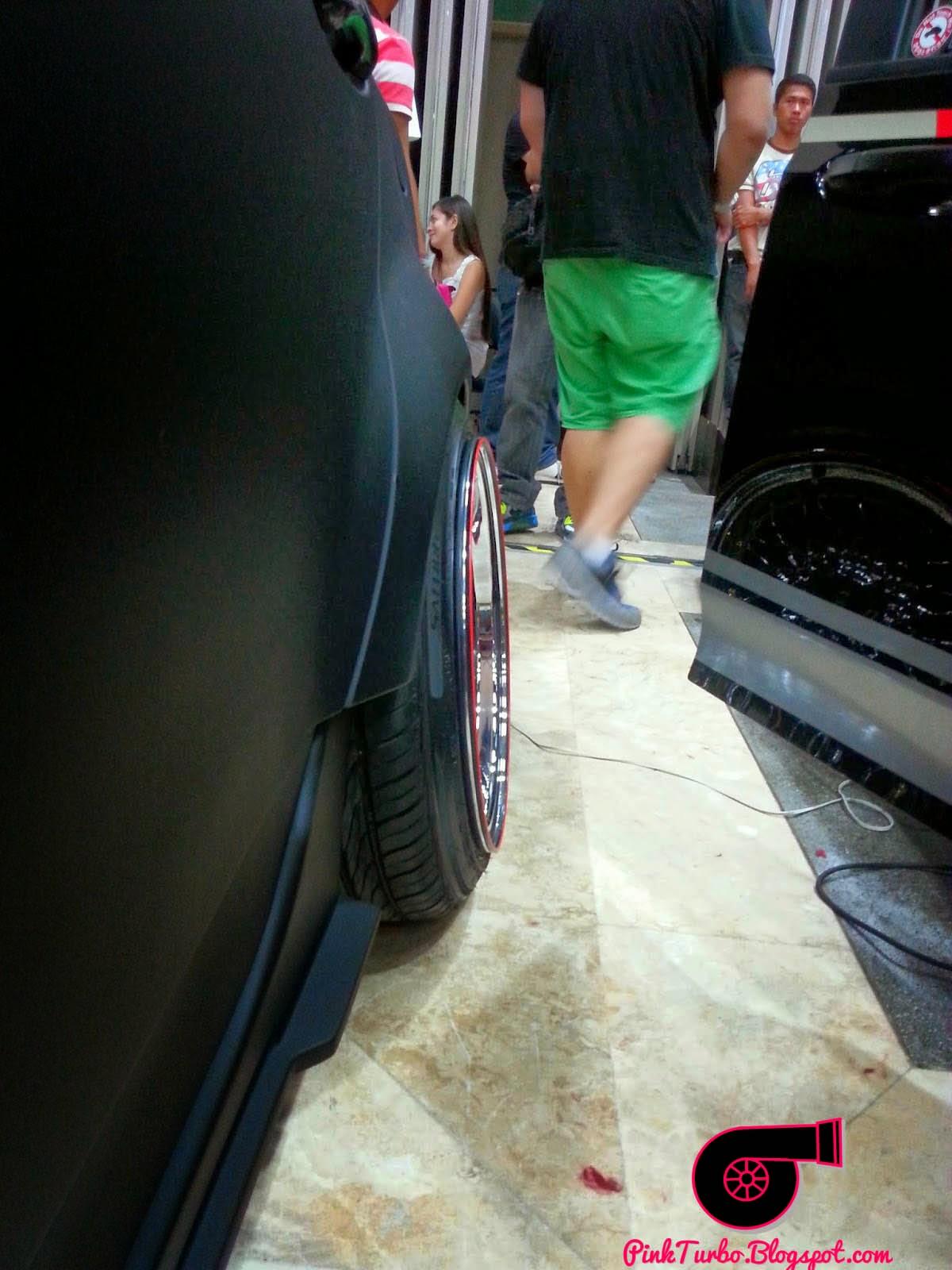 black matte car