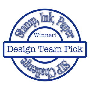 Stamp, Ink, Paper DT Pick Winner!