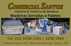 COMERCIAL SANTOS Indústria & Comércio de Madeiras Madeiras Serradas e Paletes