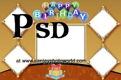 Birthday psd free download