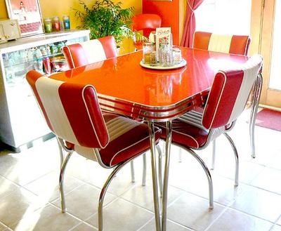 Siempre guapa con norma cano como decorar tu casa en estilo retro de los 50 s - Mesa cocina vintage ...