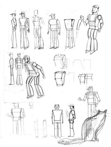 Dibujos Mundo de papel de People Too. Paper World drawings