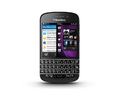 BlackBerry Q10, Harga BlackBerry Q10, Spesifikasi BlackBerry Q10