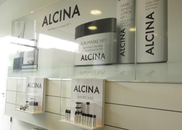ALCINA Blogger Event Haar Produkte
