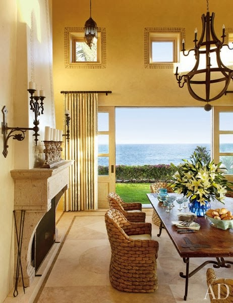 New Home Interior Design An Enchanting Oceanside Villa In