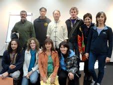 Con el Dr. Yang, Argentina