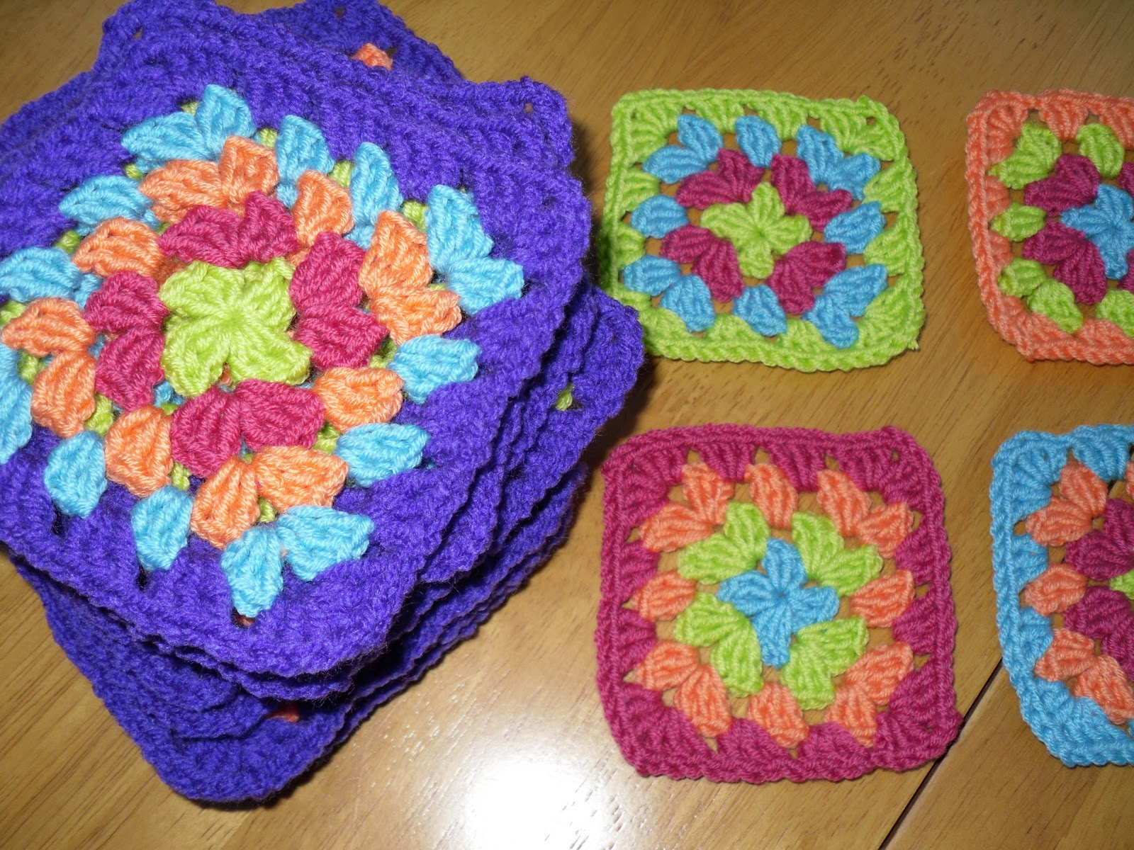 The Craft Attic: More Crochet Granny Squares