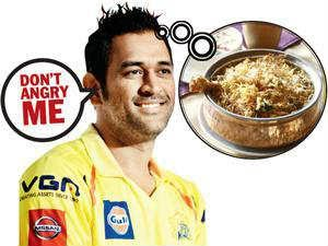 cricket captain dhoni vacates hotel for hyderabadi biryani, funny news in tamil, Vinodha seidhigal