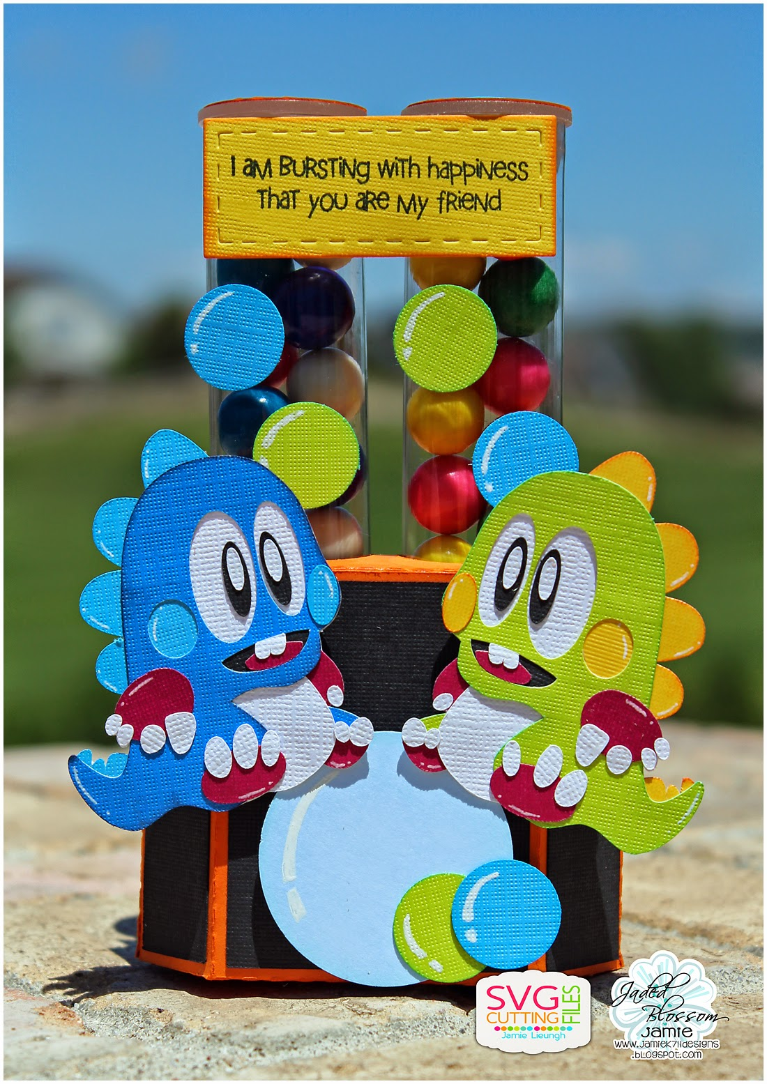 Bubble Bobble Topper by JamieK 711 Designs