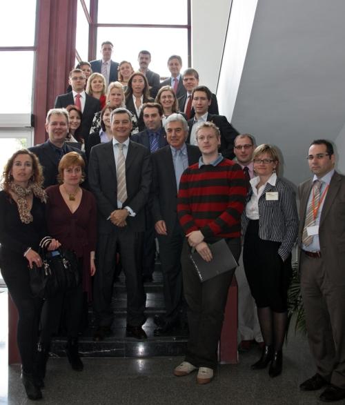 Ripoll recibe a los integrantes de la plataforma europea para crear redes de colaboración interegional
