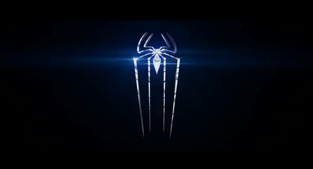 The Amazing Spider-Man 2012 Super Hero Movie Title in 3-D