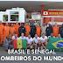 DELEGAÇÃO DE BOMBEIROS DO SENEGAL VISITAM CBMDF