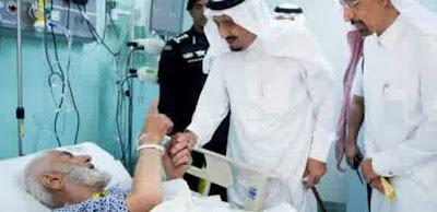 Bantuan raja saudi pada korban crane