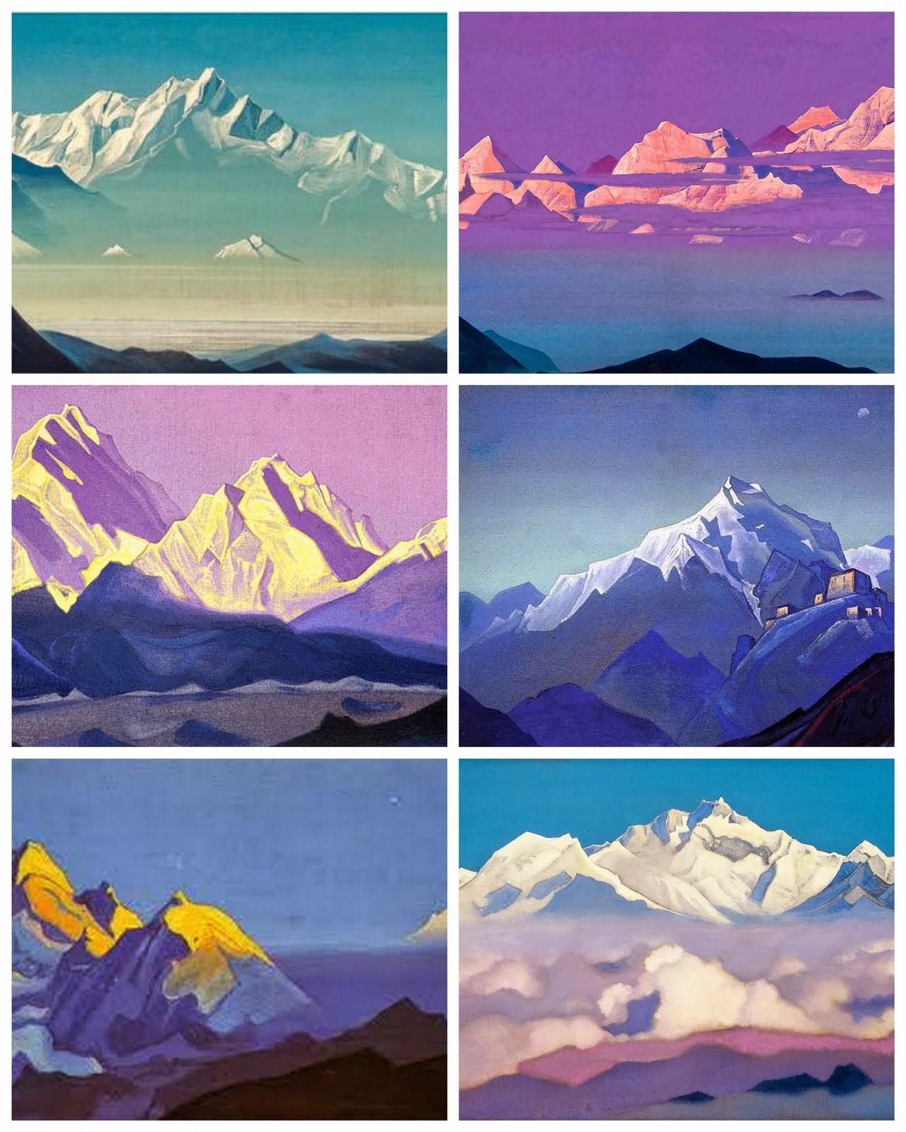 Гималаи. Рерих