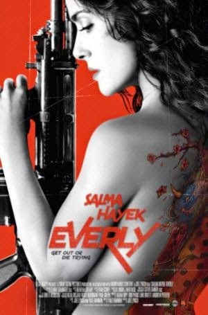 Everly: Theatrical Poster