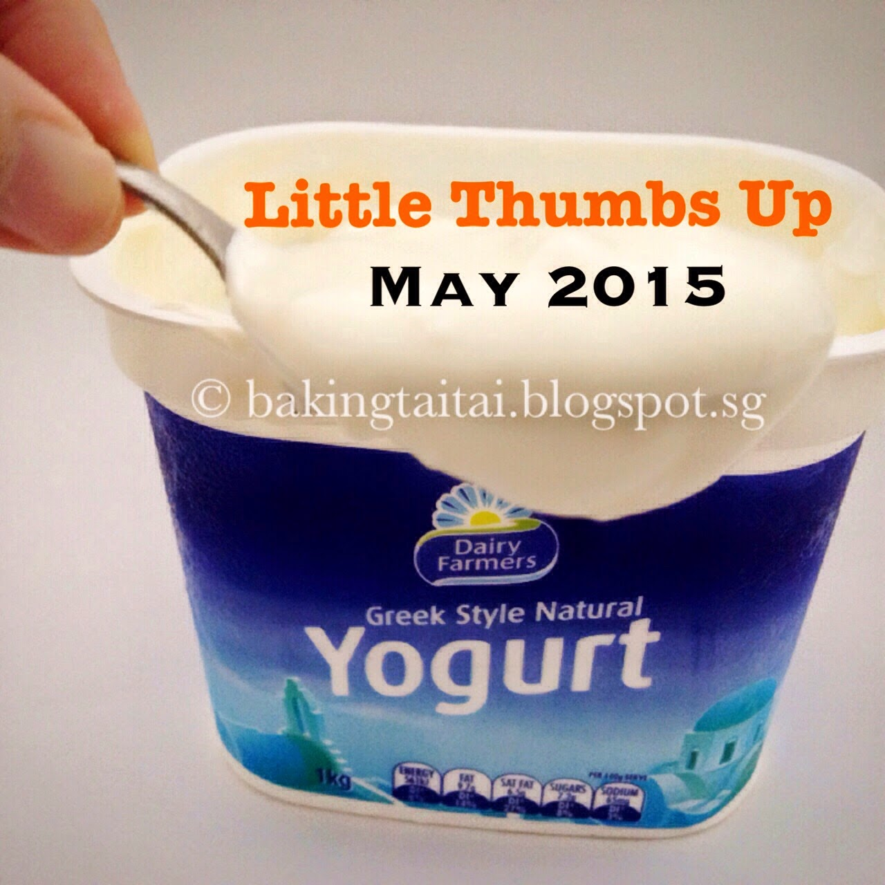 Little Thumbs Up Cooking/Baking Event with Yogurt Theme