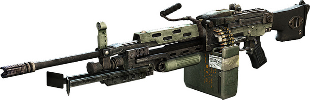 list of light machine guns