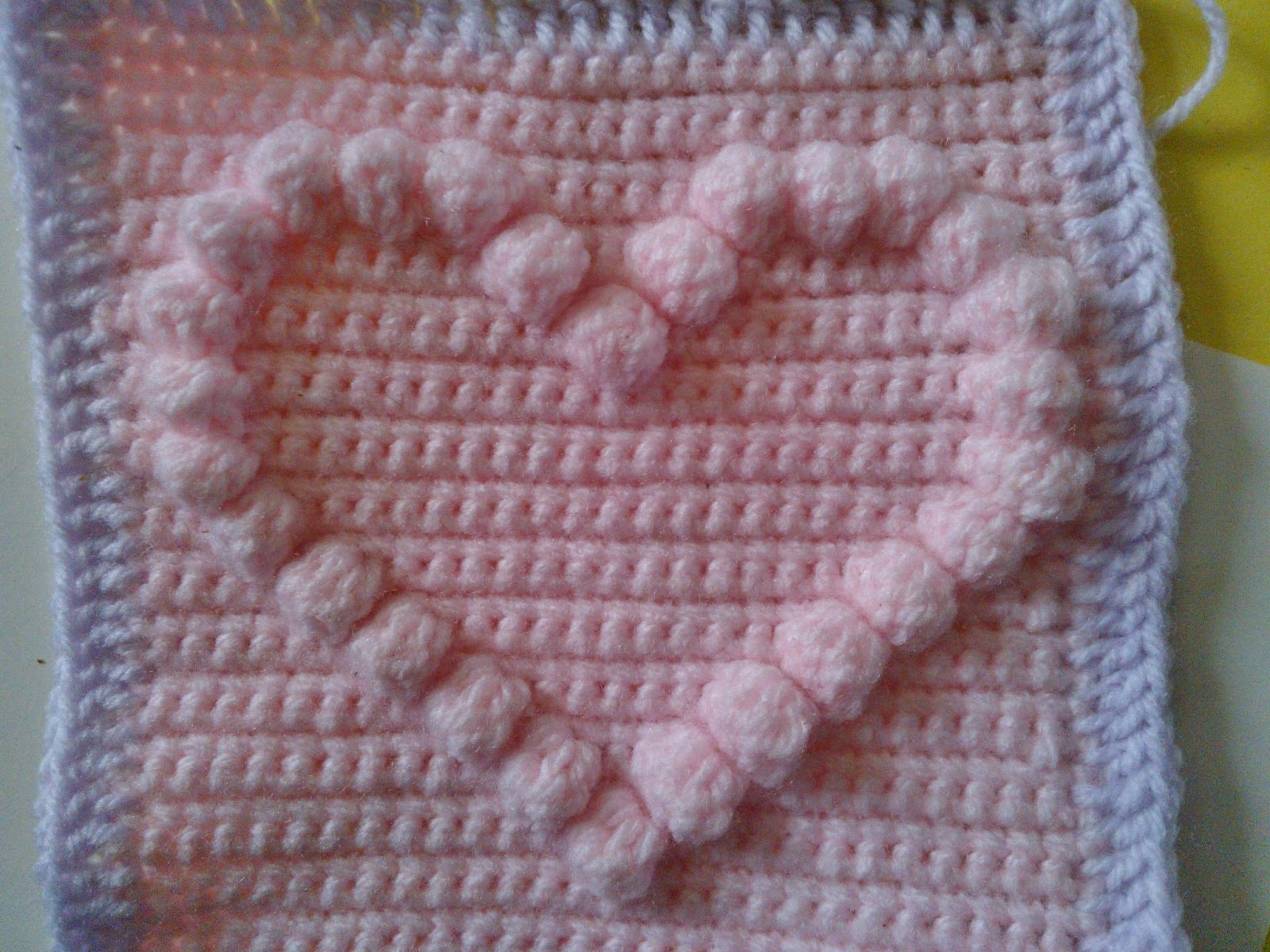 Crochetsnugglies bobble heart pattern bobble heart pattern bankloansurffo Images
