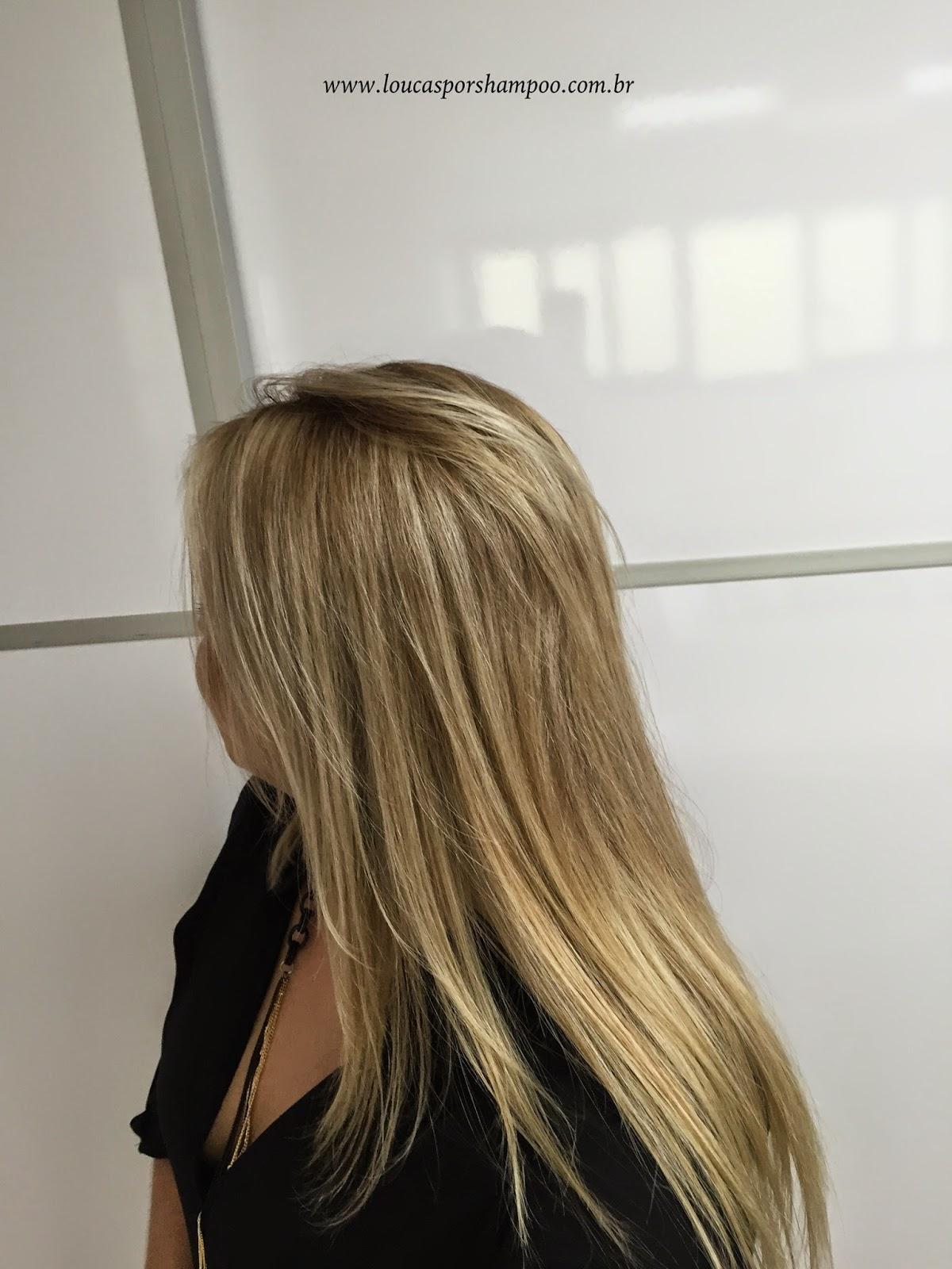 Loucasporshampoo Cabelo com o Shampoo Vitamino Color da Loreal Prefessionnel