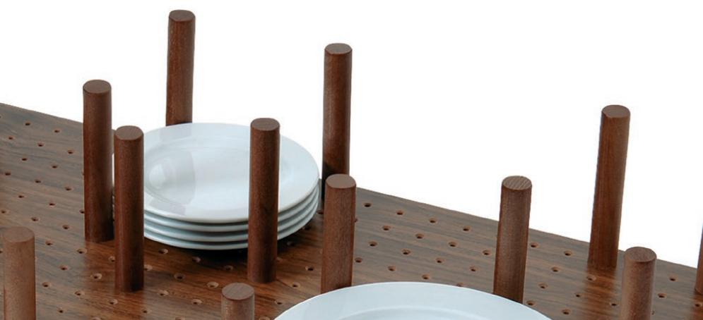 organizador cajon cocina madera