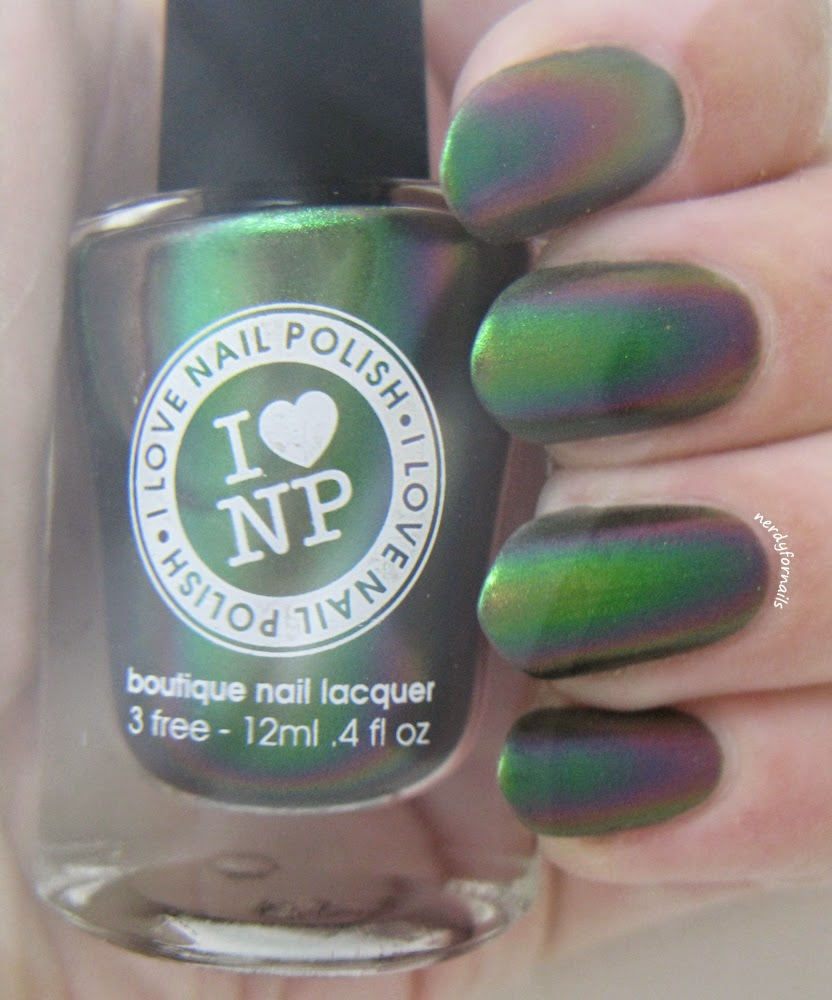 ILNP- I Love Nail Polish Mutagen Swatches Underwater