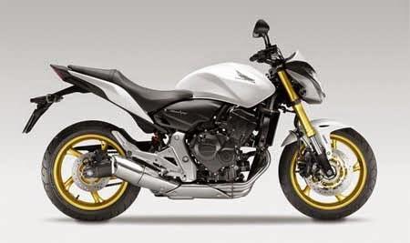 Honda CB600F warna Putih