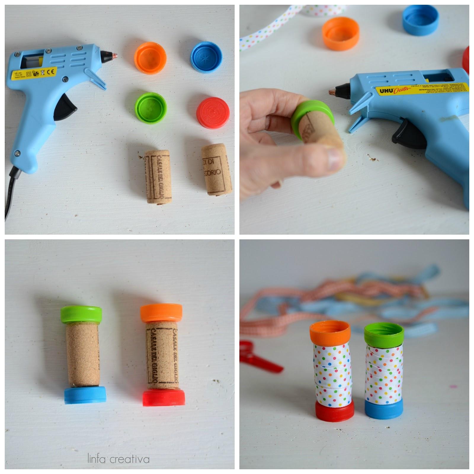 tutorial rocchetti per fili fatti con materiale di riciclo