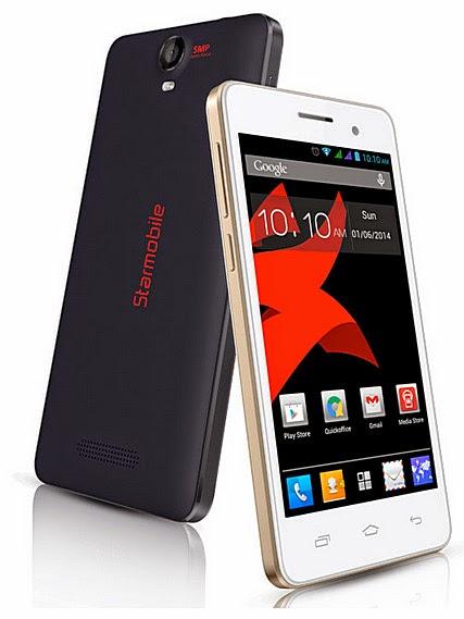 Starmobile Roar, Starmobile Android Smartphone