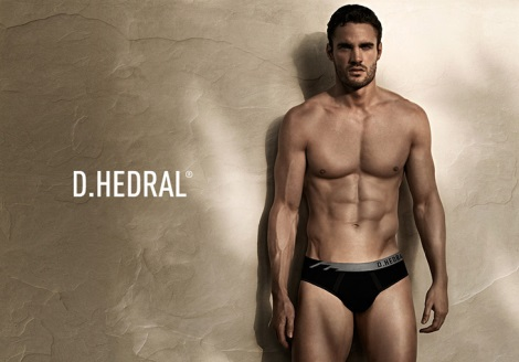 Thom Evans D.Hedral's Seamless Underwear Campaign by Daniel Jaems
