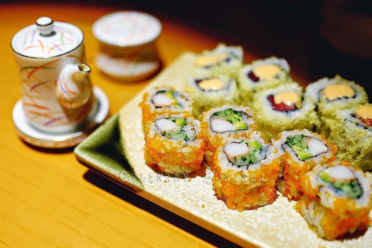 Spicy Tuna Maki and California Maki