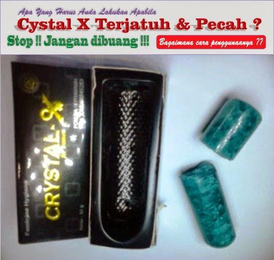 Gambar Crystal X Yang Patah