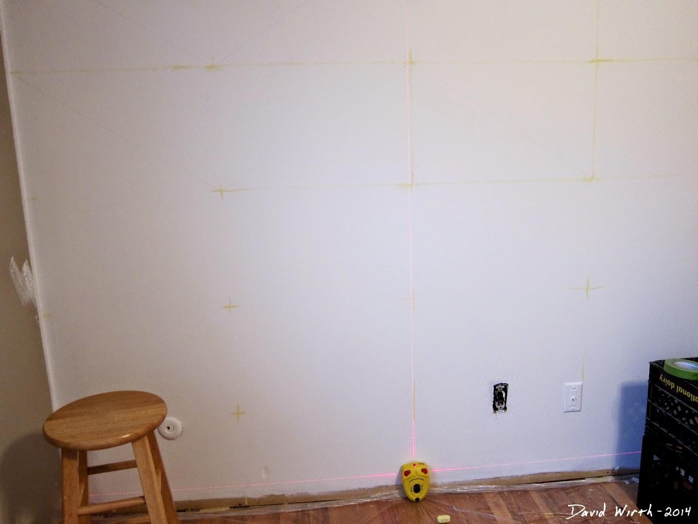 zig zag wall paint