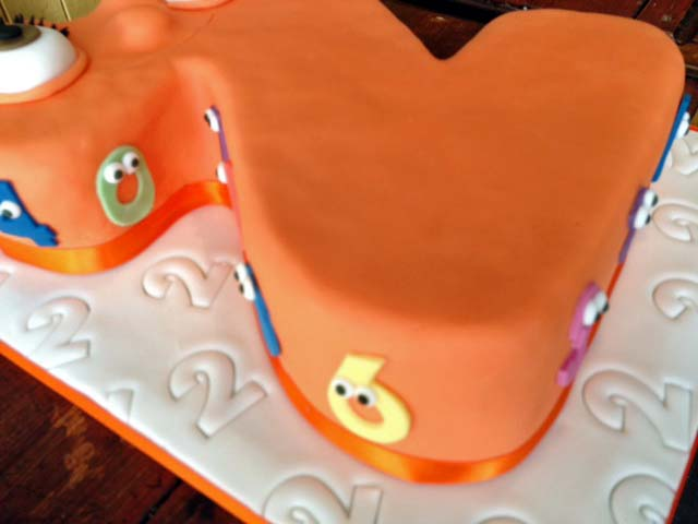 lauralovescakes Numberjacks 2 Cake – Numberjacks Birthday Card