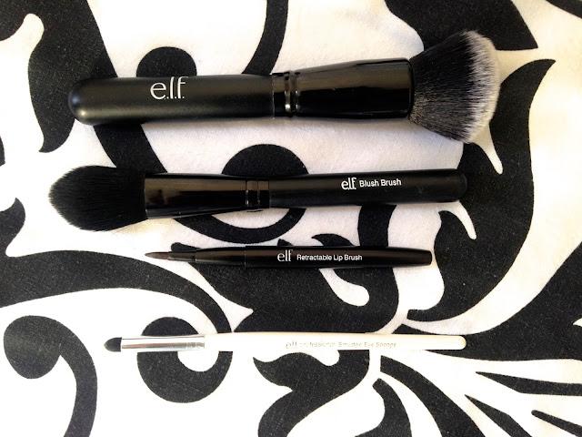 ELF Make Up Brushes