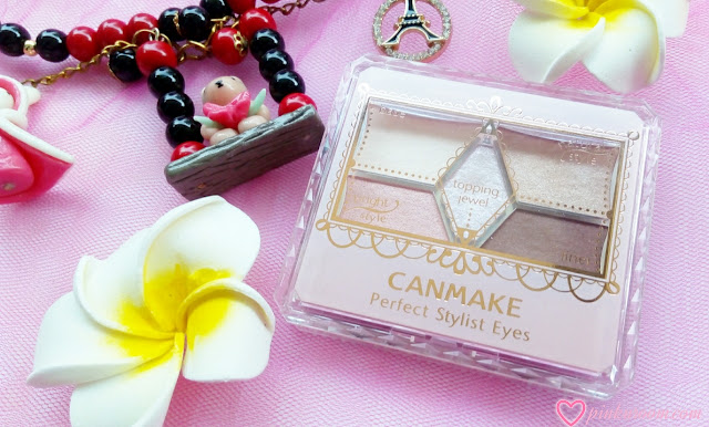 CANMAKE Perfect Stylist Eyes Review Pinkuroom
