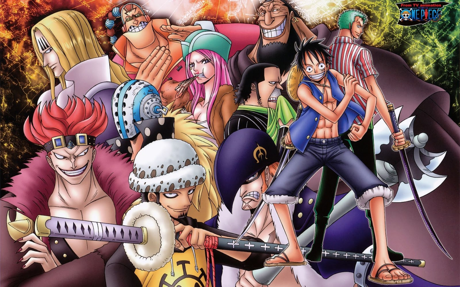Wallpaper one piece new world new hd wallon - One piece pictures new world ...
