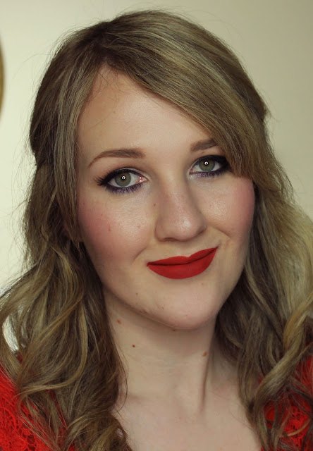 Darling Girl Pucker Paint Matte Lip Cream - I'd Do Time For You lipstick swatches & review