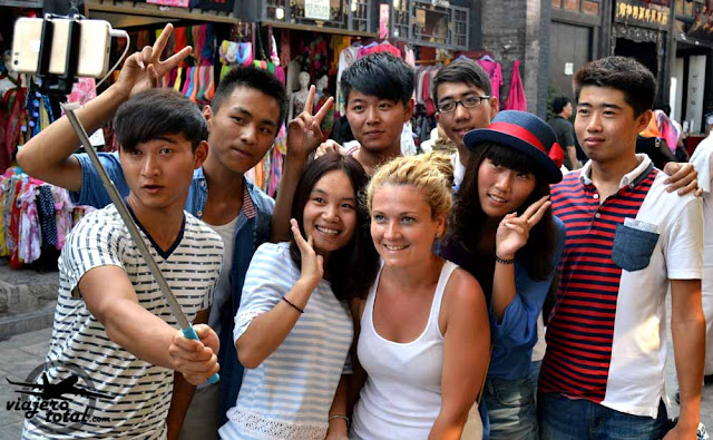 selfie china