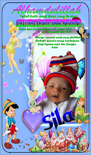 Sticker Bayi Keren