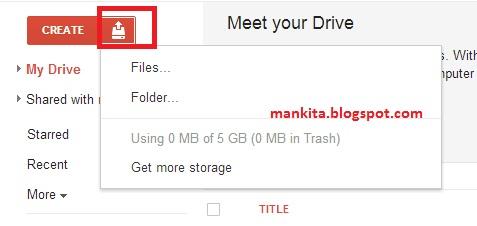 Google, Upload