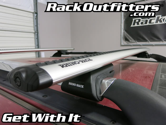 Ford Escape Rhino Rack Sx Vortex Aero Silver Complete Base