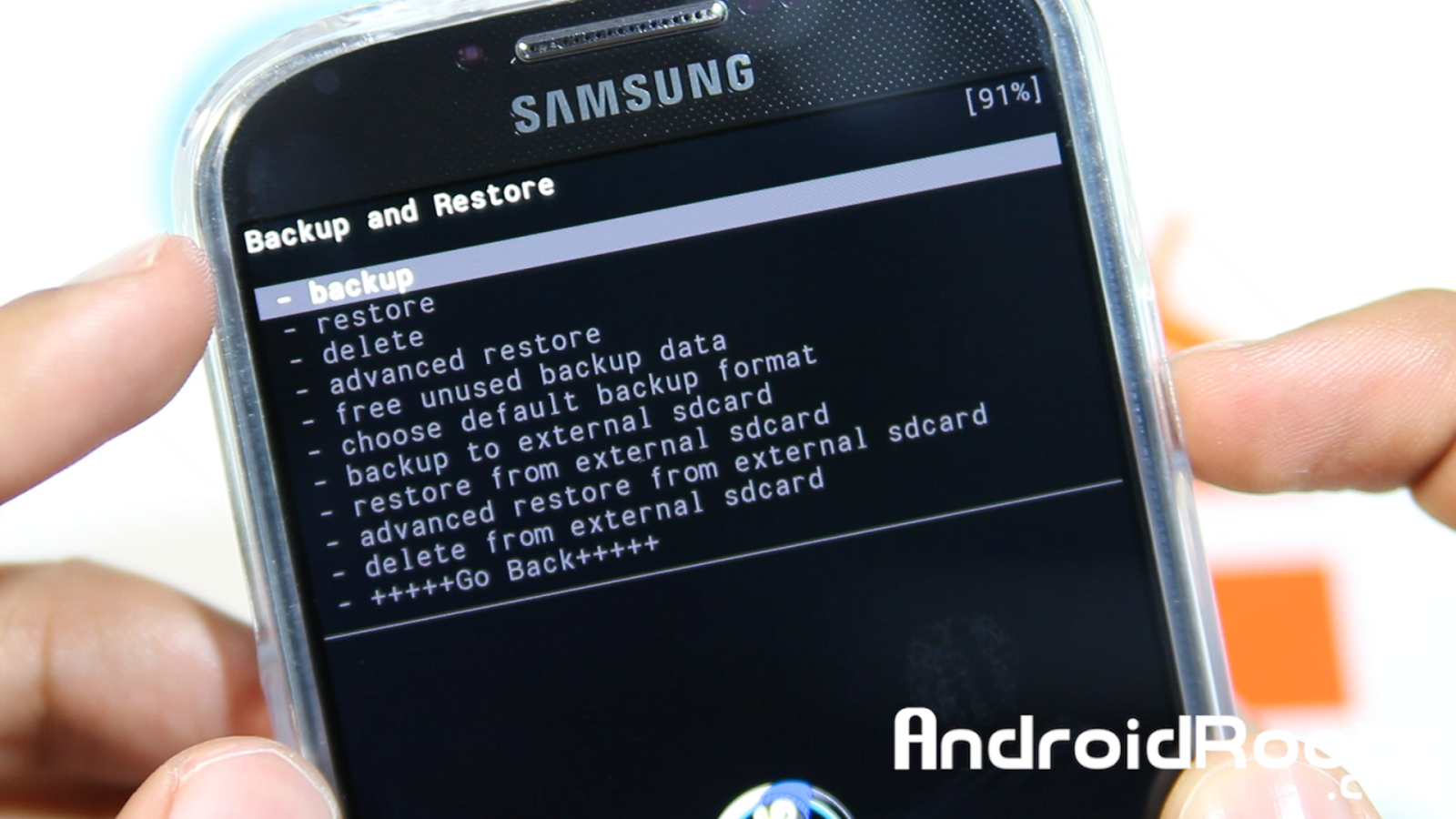 , How To Do A Nandroid Backup on Galaxy S4! - Backup and Restore ROM