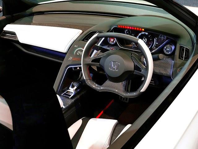 2017 Honda S2000 interior