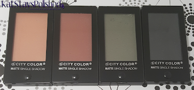 City Color Cosmetics Matte Single Shadow | Kat Stays Polished