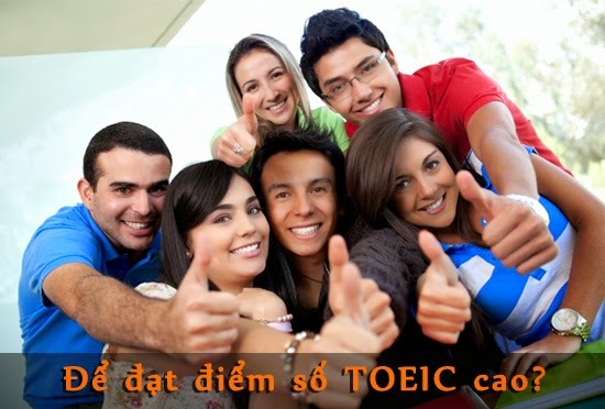 The Basic Thing To Achieve High TOEIC Scores