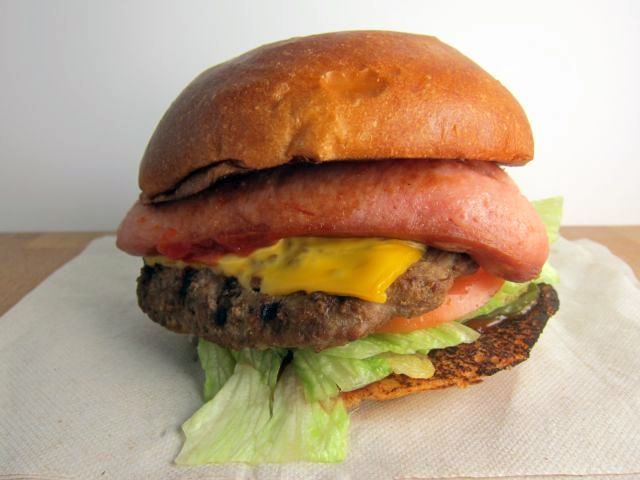 American Thickburger features a Black Angus beef patty with American ...