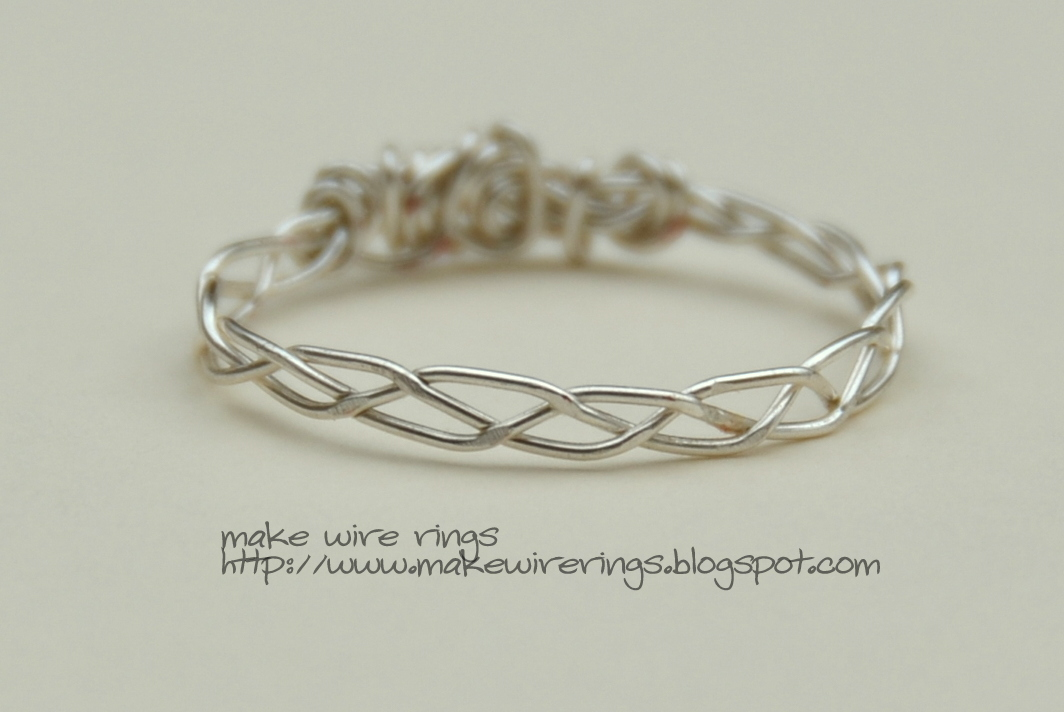 Making Wire Rings: Braided Wire Band